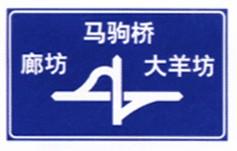 綦江道路指路牌